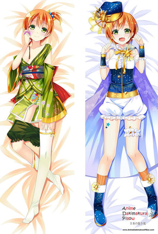 New Rin Hoshizora - Love Live Anime Dakimakura Japanese Hugging Body Pillow Cover MGF-59011 - Anime Dakimakura Pillow Shop | Fast, Free Shipping, Dakimakura Pillow & Cover shop, pillow For sale, Dakimakura Japan Store, Buy Custom Hugging Pillow Cover - 1