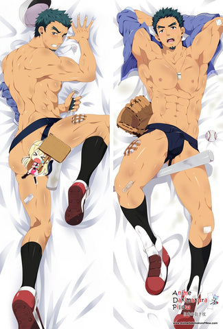 New Baseball Game Anime Dakimakura Japanese Hugging Body Pillow Cover MGF-59025 - Anime Dakimakura Pillow Shop | Fast, Free Shipping, Dakimakura Pillow & Cover shop, pillow For sale, Dakimakura Japan Store, Buy Custom Hugging Pillow Cover - 1
