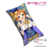 New Rin Hoshizora - Love Live Anime Dakimakura Rectangle Pillow Cover H0059 - Anime Dakimakura Pillow Shop | Fast, Free Shipping, Dakimakura Pillow & Cover shop, pillow For sale, Dakimakura Japan Store, Buy Custom Hugging Pillow Cover - 1