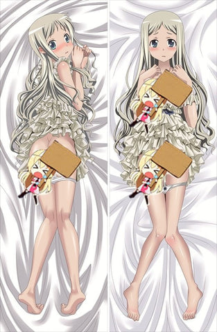 New  Anohana The Flower We Saw That Day Anime Dakimakura Japanese Pillow Cover ContestTwentyNine8 - Anime Dakimakura Pillow Shop | Fast, Free Shipping, Dakimakura Pillow & Cover shop, pillow For sale, Dakimakura Japan Store, Buy Custom Hugging Pillow Cover - 1