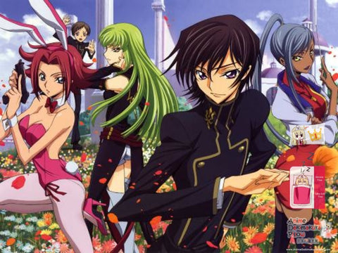 New Code Geass Japanese Anime Bed Blanket Cover or Duvet Cover Blanket 5 - Anime Dakimakura Pillow Shop | Fast, Free Shipping, Dakimakura Pillow & Cover shop, pillow For sale, Dakimakura Japan Store, Buy Custom Hugging Pillow Cover - 1