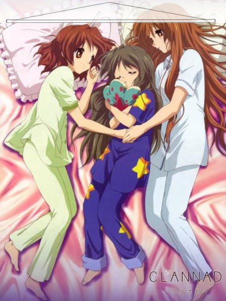 Clannad Japanese Anime Wall Scroll Poster and Banner 5