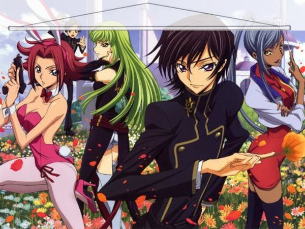 Code Geass Japanese Anime Wall Scroll Poster and Banner 5