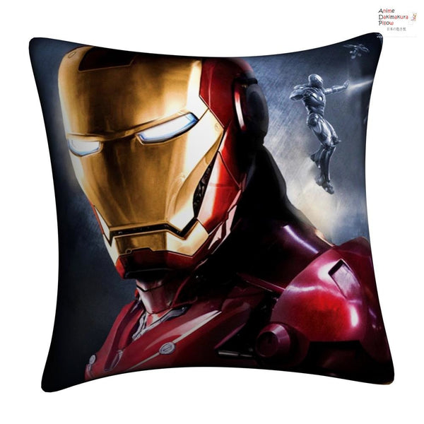 New IRON MAN Throw Pillow cushion pillowcases cover5 - Anime Dakimakura Pillow Shop | Fast, Free Shipping, Dakimakura Pillow & Cover shop, pillow For sale, Dakimakura Japan Store, Buy Custom Hugging Pillow Cover - 1