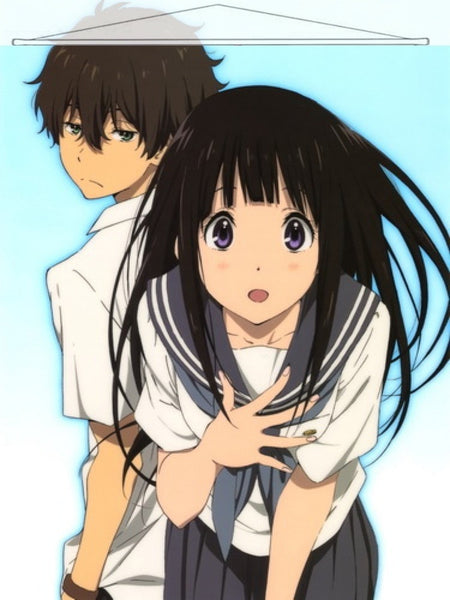 Hyouka Japanese Anime Wall Scroll Poster and Banner 5
