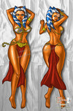 New Slave Ahsoka Anime Dakimakura Japanese Pillow Custom Designer Grrriva ADC596 - Anime Dakimakura Pillow Shop | Fast, Free Shipping, Dakimakura Pillow & Cover shop, pillow For sale, Dakimakura Japan Store, Buy Custom Hugging Pillow Cover - 1