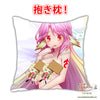 New Jibril - No Game No Life Anime Dakimakura Japanese Square Pillow Cover Custom Designer Anna-Lee ADC415 - Anime Dakimakura Pillow Shop | Fast, Free Shipping, Dakimakura Pillow & Cover shop, pillow For sale, Dakimakura Japan Store, Buy Custom Hugging Pillow Cover - 2