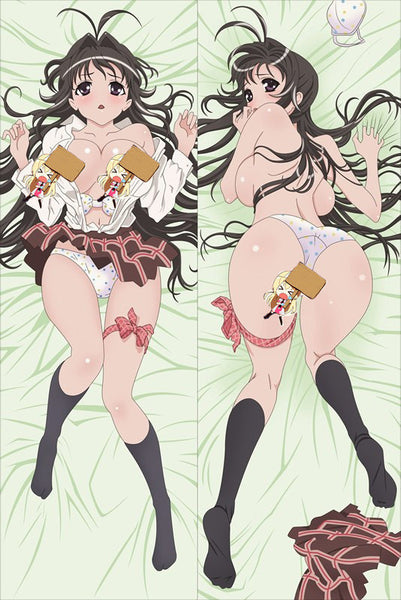 New Kanokon Anime Dakimakura Japanese Pillow Cover K2 - Anime Dakimakura Pillow Shop | Fast, Free Shipping, Dakimakura Pillow & Cover shop, pillow For sale, Dakimakura Japan Store, Buy Custom Hugging Pillow Cover - 1