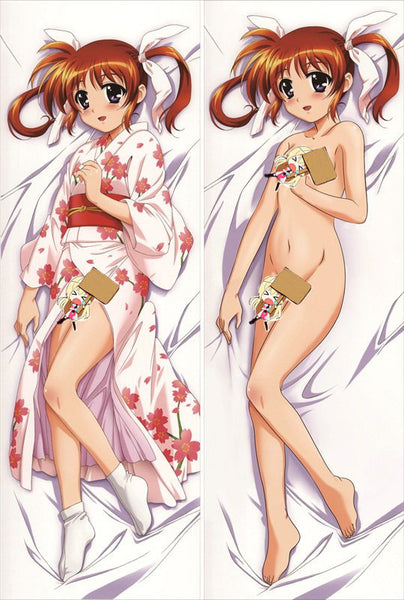 New Magical Girl Lyrical Nanoha Anime Dakimakura Japanese Pillow Cover MGLN5 - Anime Dakimakura Pillow Shop | Fast, Free Shipping, Dakimakura Pillow & Cover shop, pillow For sale, Dakimakura Japan Store, Buy Custom Hugging Pillow Cover - 1