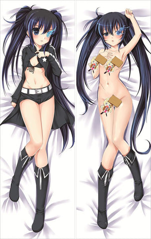 New Black Rock Shooter Anime Dakimakura Japanese Pillow Cover BRS10 - Anime Dakimakura Pillow Shop | Fast, Free Shipping, Dakimakura Pillow & Cover shop, pillow For sale, Dakimakura Japan Store, Buy Custom Hugging Pillow Cover - 1