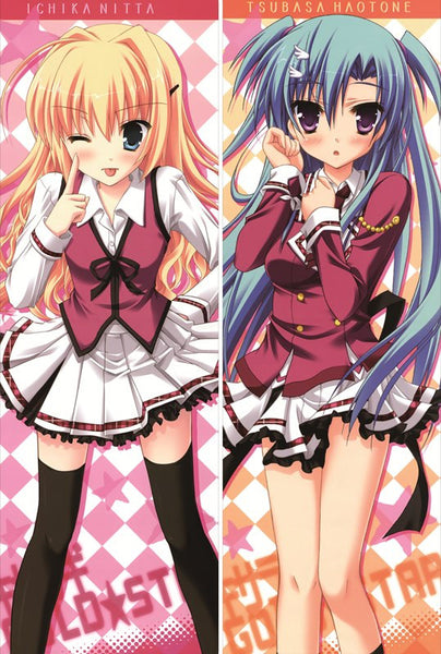 New  Kisaragi GOLD STAR Anime Dakimakura Japanese Pillow Cover ContestNine14