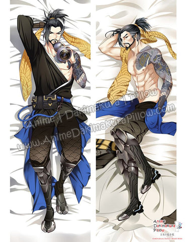 New Hanzo - Overwatch Male Anime Dakimakura Japanese Hugging Body Pillow Cover ADP-610020