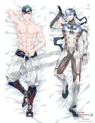 New Genji - Overwatch Male Anime Dakimakura Japanese Hugging Body Pillow Cover ADP-610040