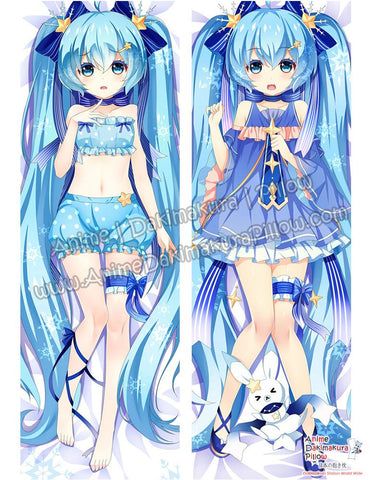 New Hatsune Miku - Vocaloid Anime Dakimakura Japanese Hugging Body Pillow Cover ADP-610052