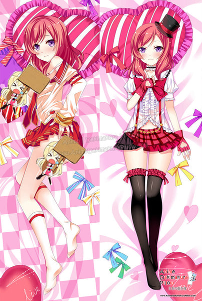 New Maki Nishikino - Love Live Anime Dakimakura Japanese Hugging Body Pillow Cover ADP-61026