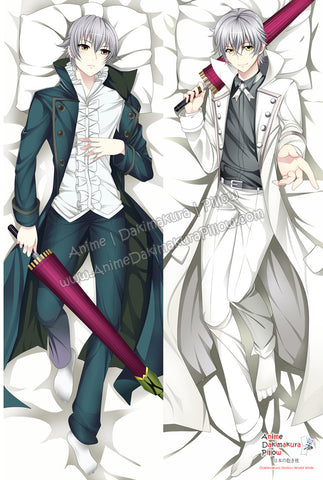 New Yashiro Isana - K Project Male Anime Dakimakura Japanese Hugging Body Pillow Cover ADP-61074 - Anime Dakimakura Pillow Shop | Fast, Free Shipping, Dakimakura Pillow & Cover shop, pillow For sale, Dakimakura Japan Store, Buy Custom Hugging Pillow Cover - 1
