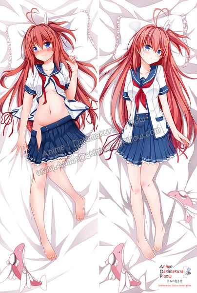 New Asuka Kurashina - Beyond the sky into the firmament Anime Dakimakura Japanese Hugging Body Pillow Cover ADP-61077 - Anime Dakimakura Pillow Shop | Fast, Free Shipping, Dakimakura Pillow & Cover shop, pillow For sale, Dakimakura Japan Store, Buy Custom Hugging Pillow Cover - 1