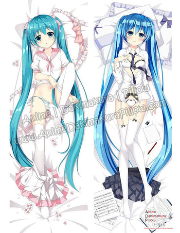 New Hatsune Miku - Vocaloid Anime Dakimakura Japanese Hugging Body Pillow Cover ADP-612053