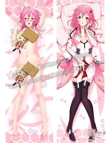 New Inori Yuzuriha - Guilty Crown Anime Dakimakura Japanese Hugging Body Pillow Cover ADP-612062