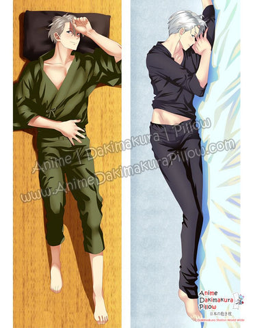 New Victor Nikiforov - Yuri on Ice Male Anime Dakimakura Japanese Hugging Body Pillow Cover ADP-612071