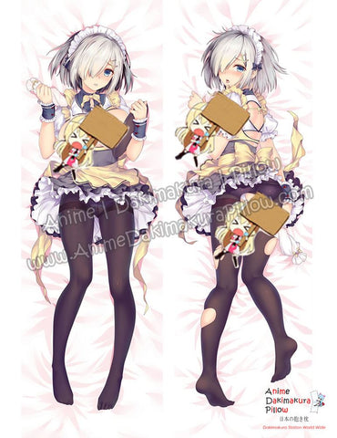 New Hamakaze - Kantai Collection Anime Dakimakura Japanese Hugging Body Pillow Cover ADP-612078