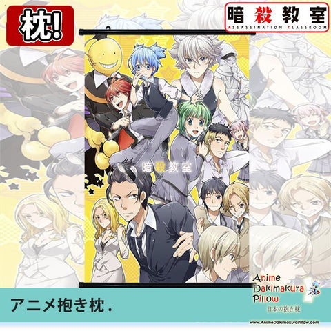 New Assassination Classroom Japanese Anime Art Wall Scroll Poster Limited Edition High Quality GZFONG061 - Anime Dakimakura Pillow Shop | Fast, Free Shipping, Dakimakura Pillow & Cover shop, pillow For sale, Dakimakura Japan Store, Buy Custom Hugging Pillow Cover - 1