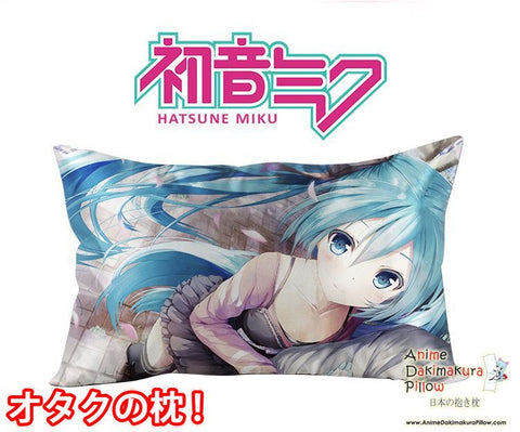 New Hatsune Miku - Vocaloid Anime Waifu Dakimakura Rectangle 40x70cm Pillow Cover GZFONG-61 - Anime Dakimakura Pillow Shop | Fast, Free Shipping, Dakimakura Pillow & Cover shop, pillow For sale, Dakimakura Japan Store, Buy Custom Hugging Pillow Cover - 1