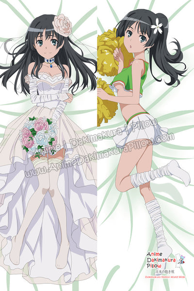 New A Certain Scientific Railgun Anime Dakimakura Japanese Hugging Body Pillow Cover ADP64006