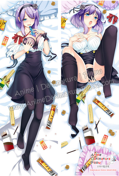 New Hotaru Shidare - Dagashi Kashi Anime Dakimakura Japanese Hugging Body Pillow Cover ADP-64093