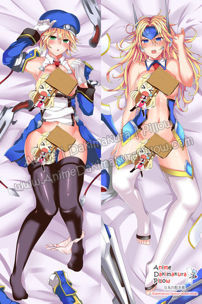 New Noel Vermillion - BlazBlue Anime Dakimakura Japanese Hugging Body Pillow Cover ADP-64117