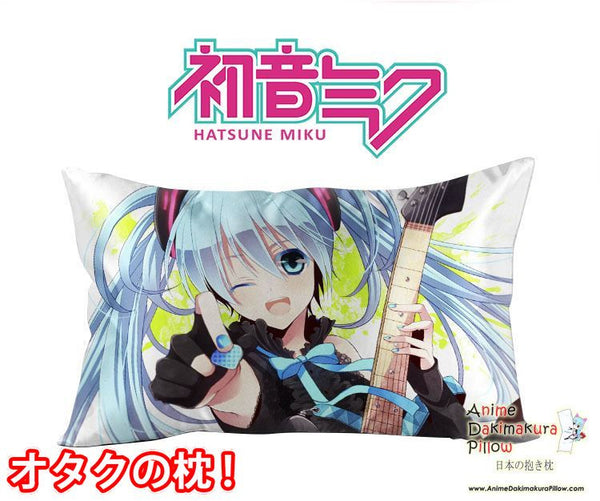 New Hatsune Miku - Vocaloid Anime Waifu Dakimakura Rectangle 40x70cm Pillow Cover GZFONG-64 - Anime Dakimakura Pillow Shop | Fast, Free Shipping, Dakimakura Pillow & Cover shop, pillow For sale, Dakimakura Japan Store, Buy Custom Hugging Pillow Cover - 1