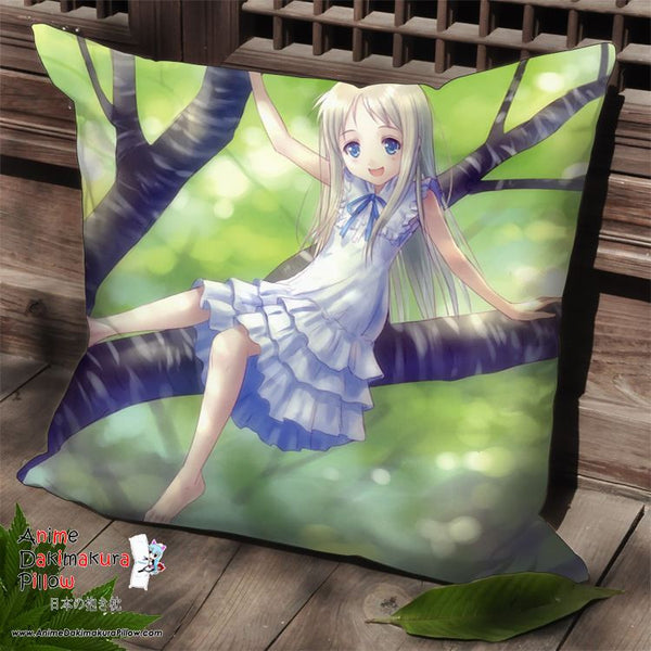 New AnoHana Anime Dakimakura Square Pillow Cover SPC64