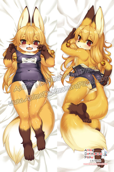New Kawaii Furry Anime Dakimakura Japanese Hugging Body Pillow Cover ADP-65090 - Anime Dakimakura Pillow Shop | Fast, Free Shipping, Dakimakura Pillow & Cover shop, pillow For sale, Dakimakura Japan Store, Buy Custom Hugging Pillow Cover - 1