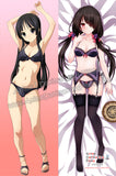 New Kurumi Tokisaki - Date A Live and Mio Akiyama - K-ON! Anime Dakimakura Japanese Hugging Body Pillow Cover ADP-65109 ADP-65101 - Anime Dakimakura Pillow Shop | Fast, Free Shipping, Dakimakura Pillow & Cover shop, pillow For sale, Dakimakura Japan Store, Buy Custom Hugging Pillow Cover - 1