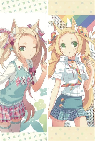 New  Blonde Blossom Anime Dakimakura Japanese Pillow Cover ContestNine11 - Anime Dakimakura Pillow Shop | Fast, Free Shipping, Dakimakura Pillow & Cover shop, pillow For sale, Dakimakura Japan Store, Buy Custom Hugging Pillow Cover - 1