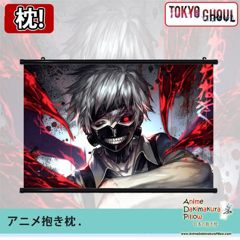 New Tokyo Ghoul Japanese Anime Art Wall Scroll Poster Limited Edition High Quality GZFONG065 - Anime Dakimakura Pillow Shop | Fast, Free Shipping, Dakimakura Pillow & Cover shop, pillow For sale, Dakimakura Japan Store, Buy Custom Hugging Pillow Cover - 1