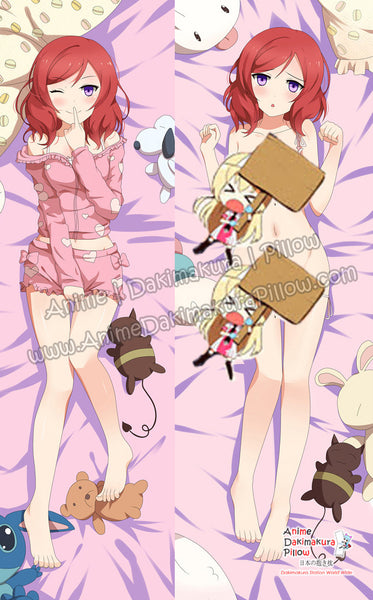 New Maki Nishikino - Love Live Anime Dakimakura Japanese Hugging Body Pillow Cover ADP-66027