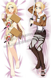 New Annie Leonhart - Attack on Titan Anime Dakimakura Japanese Hugging Body Pillow Cover ADP-66034 - Anime Dakimakura Pillow Shop | Fast, Free Shipping, Dakimakura Pillow & Cover shop, pillow For sale, Dakimakura Japan Store, Buy Custom Hugging Pillow Cover - 1