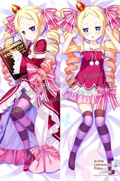 New  Beatrice - Re Zero Anime Dakimakura Japanese Hugging Body Pillow Cover ADP-67005 - Anime Dakimakura Pillow Shop | Fast, Free Shipping, Dakimakura Pillow & Cover shop, pillow For sale, Dakimakura Japan Store, Buy Custom Hugging Pillow Cover - 1