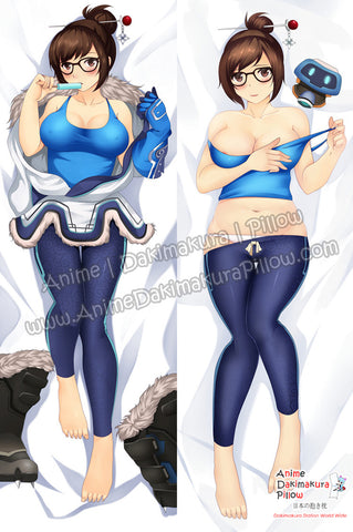 New Mei - Overwatch Anime Dakimakura Japanese Hugging Body Pillow Cover ADP-67029 - Anime Dakimakura Pillow Shop | Fast, Free Shipping, Dakimakura Pillow & Cover shop, pillow For sale, Dakimakura Japan Store, Buy Custom Hugging Pillow Cover - 1