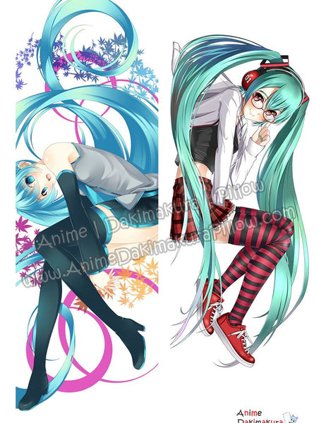 New Hatsune Miku - Vocaloid Anime Dakimakura Japanese Hugging Body Pillow Cover ADP-67062