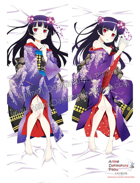 New Gokou Ruri - Oreimo Anime Dakimakura Japanese Hugging Body Pillow Cover ADP-67079