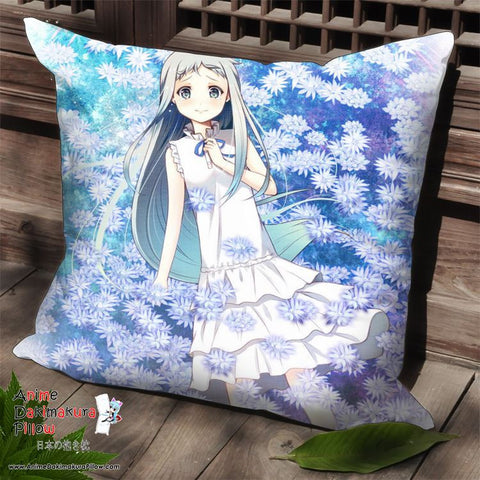 New AnoHana Anime Dakimakura Square Pillow Cover SPC67 - Anime Dakimakura Pillow Shop | Fast, Free Shipping, Dakimakura Pillow & Cover shop, pillow For sale, Dakimakura Japan Store, Buy Custom Hugging Pillow Cover - 1