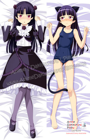 New Ruri Gokou - Oreimo Anime Dakimakura Japanese Hugging Body Pillow Cover ADP-68026 - Anime Dakimakura Pillow Shop | Fast, Free Shipping, Dakimakura Pillow & Cover shop, pillow For sale, Dakimakura Japan Store, Buy Custom Hugging Pillow Cover - 1