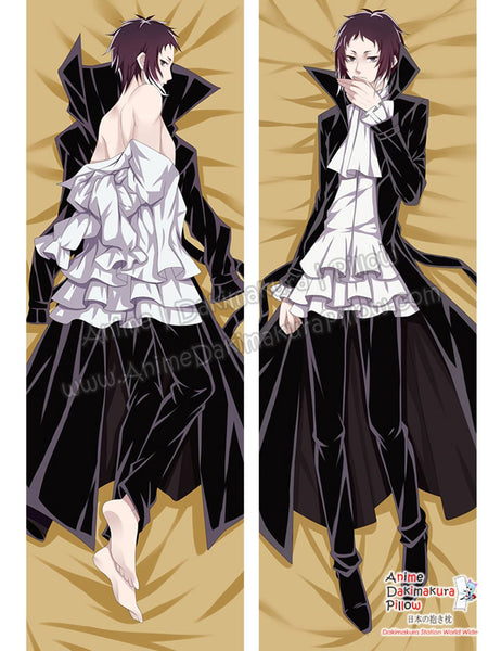 New Ryuunosuke Akutagawa - Bungou Stray Dogs Male Anime Dakimakura Japanese Hugging Body Pillow Cover ADP-68069 - Anime Dakimakura Pillow Shop | Fast, Free Shipping, Dakimakura Pillow & Cover shop, pillow For sale, Dakimakura Japan Store, Buy Custom Hugging Pillow Cover - 1