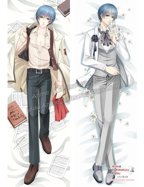 New Len Tsukimori - La Corda d'Oro Anime Male Dakimakura Japanese Hugging Body Pillow Cover ADP-68083 - Anime Dakimakura Pillow Shop | Fast, Free Shipping, Dakimakura Pillow & Cover shop, pillow For sale, Dakimakura Japan Store, Buy Custom Hugging Pillow Cover - 1