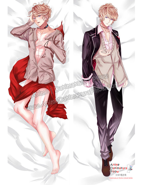 New Shu Sakamaki - Diabolik Lovers Male Anime Dakimakura Japanese Hugging Body Pillow Cover ADP-68085 - Anime Dakimakura Pillow Shop | Fast, Free Shipping, Dakimakura Pillow & Cover shop, pillow For sale, Dakimakura Japan Store, Buy Custom Hugging Pillow Cover - 1