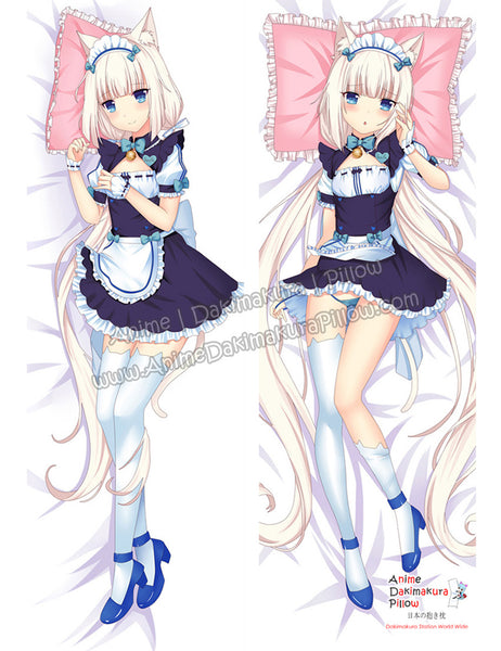 New Vanilla - Nekopara Anime Dakimakura Japanese Hugging Body Pillow Cover ADP-68086