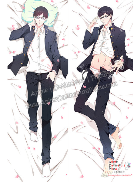 New Sakamoto - Sakamoto desu ga? Male Anime Dakimakura Japanese Hugging Body Pillow Cover ADP-68090 - Anime Dakimakura Pillow Shop | Fast, Free Shipping, Dakimakura Pillow & Cover shop, pillow For sale, Dakimakura Japan Store, Buy Custom Hugging Pillow Cover - 1