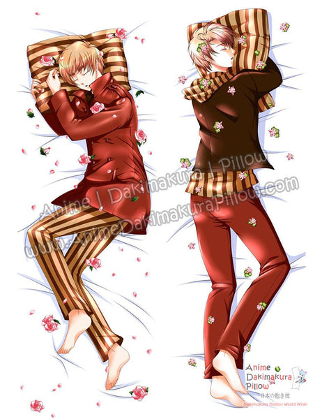 New Hetalia Male Anime Dakimakura Japanese Hugging Body Pillow Cover ADP-69005 - Anime Dakimakura Pillow Shop | Fast, Free Shipping, Dakimakura Pillow & Cover shop, pillow For sale, Dakimakura Japan Store, Buy Custom Hugging Pillow Cover - 1